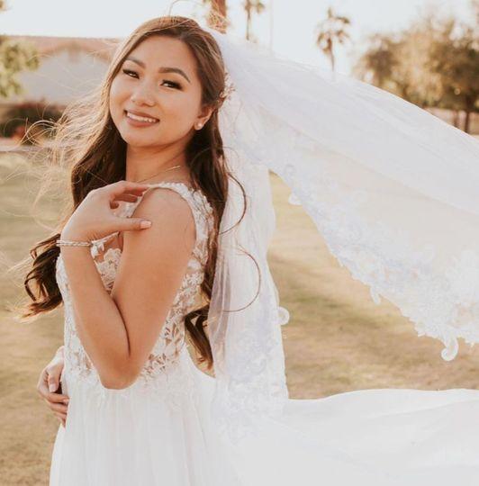 Just Married Bride