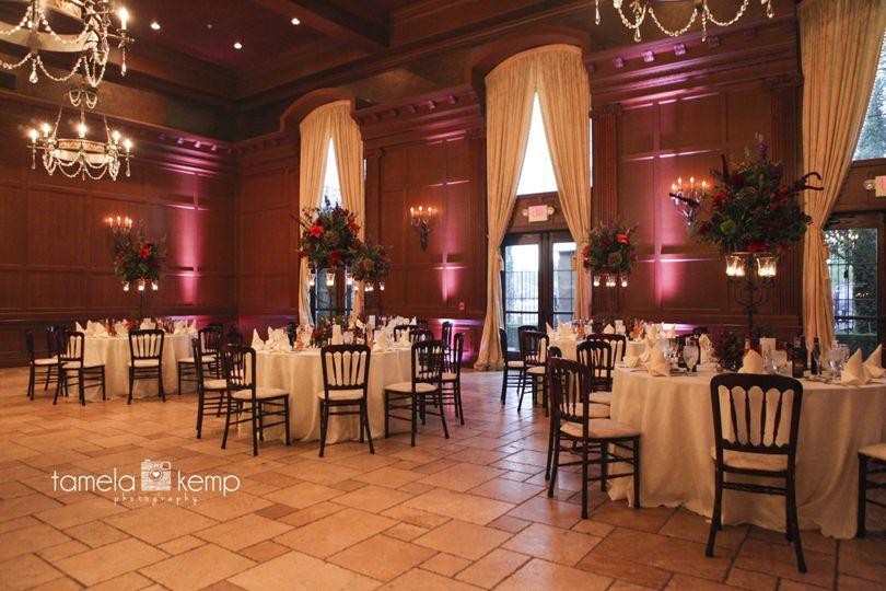the ballroom at villa sien