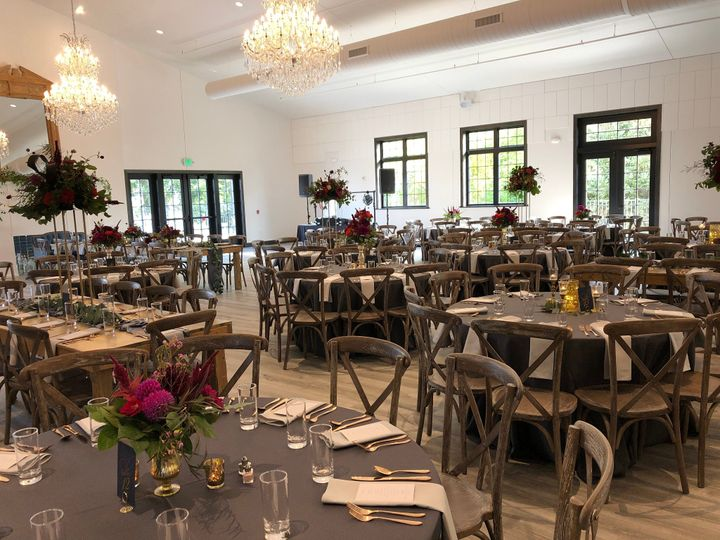 Guest view of the reception