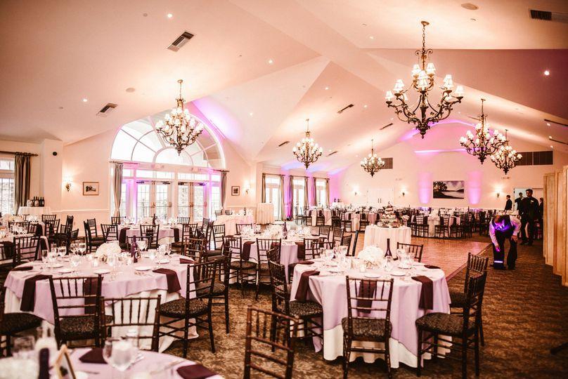 Elegant chandeliers