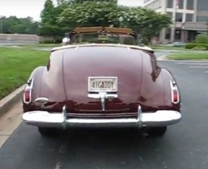 1941 Cadillac rear