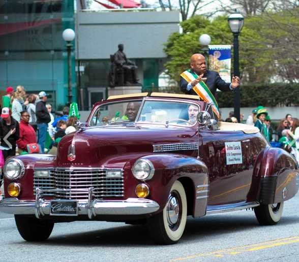 John Lewis in parade