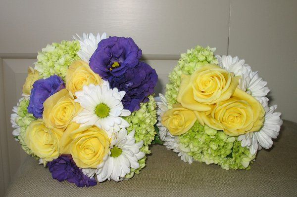Bride and Maid Bouquets