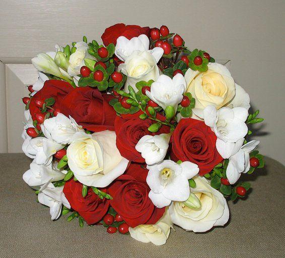 New Year's Eve Wedding Bridal Bouquet