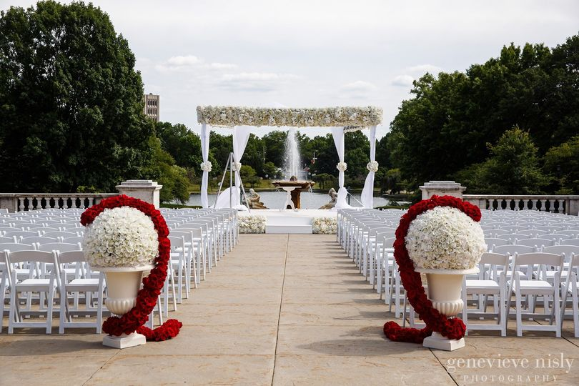South Terrace for wedding