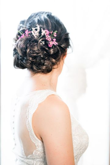 Updo for this bride!