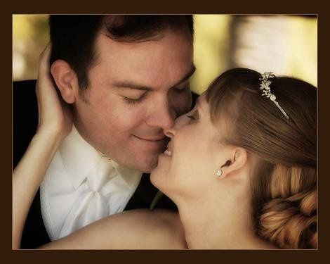 Romantic, fun Bride and Groom