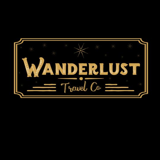 wanderlust travel co logo ticket gold 01 51 734977 158870742049536