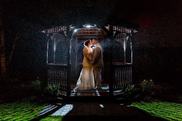 Tmx 1503773525666 Gazebo At Night Leicester, MA wedding venue
