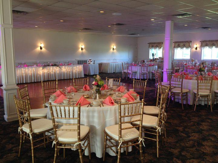 Tmx 1503773562923 Coral W Uplights Leicester, MA wedding venue
