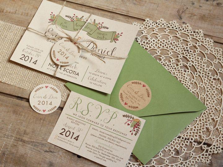 Tmx 1440696275190 Erindan4 Parker Dam, CA wedding invitation