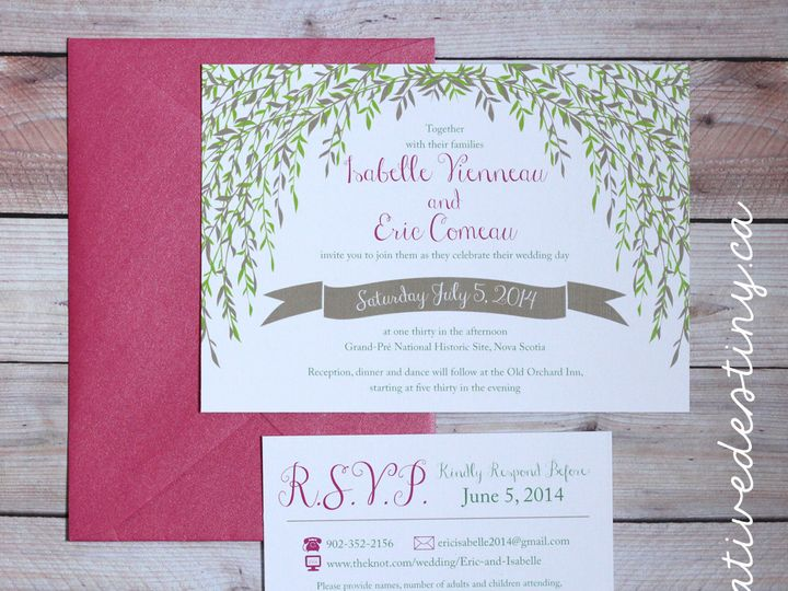 Tmx 1440696325202 Isabelleeric1 Parker Dam, CA wedding invitation
