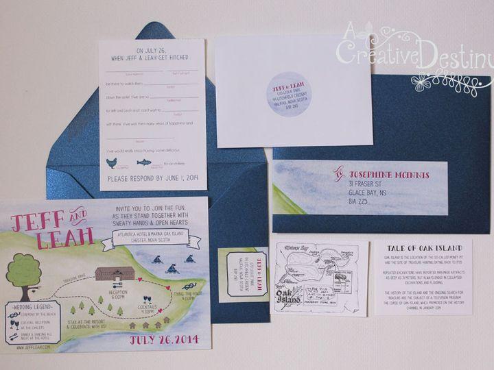 Tmx 1440696356748 Leahjeff3 Parker Dam, CA wedding invitation
