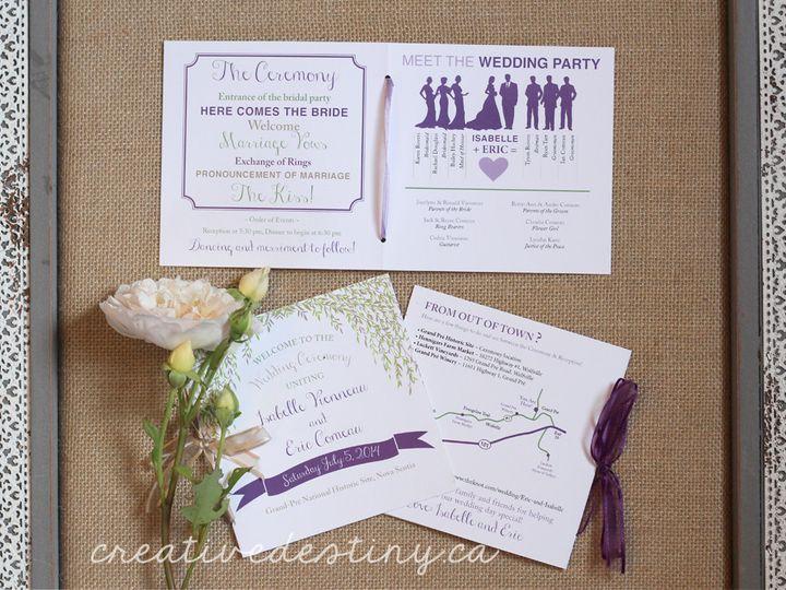 Tmx 1440696490174 Isabelle Willow Programs4 Parker Dam, CA wedding invitation