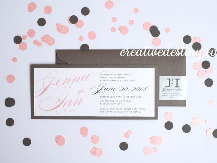 Tmx 1440696718630 Jennaian Invte Parker Dam, CA wedding invitation