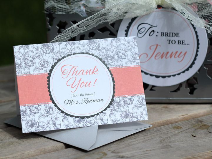 Tmx 1440714462476 Jenny Gift2 Parker Dam, CA wedding invitation
