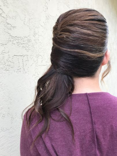 Contemporary hairstyle