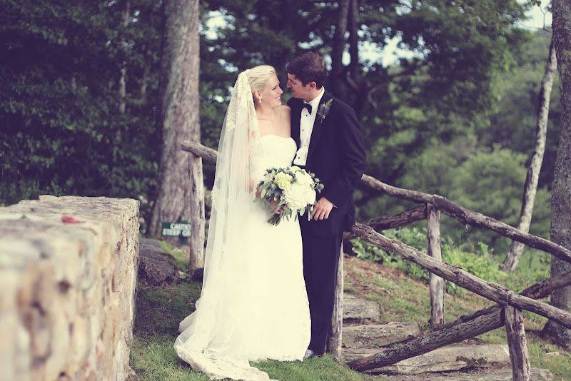 Matt & Blythe at the Blowing Rock Country Club