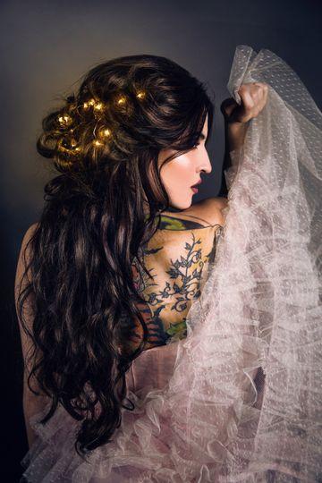 Beautiful firefly hair