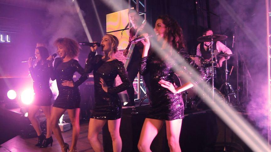 Universal Crush on stage