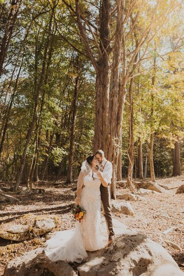 Knoxville wedding in the fall