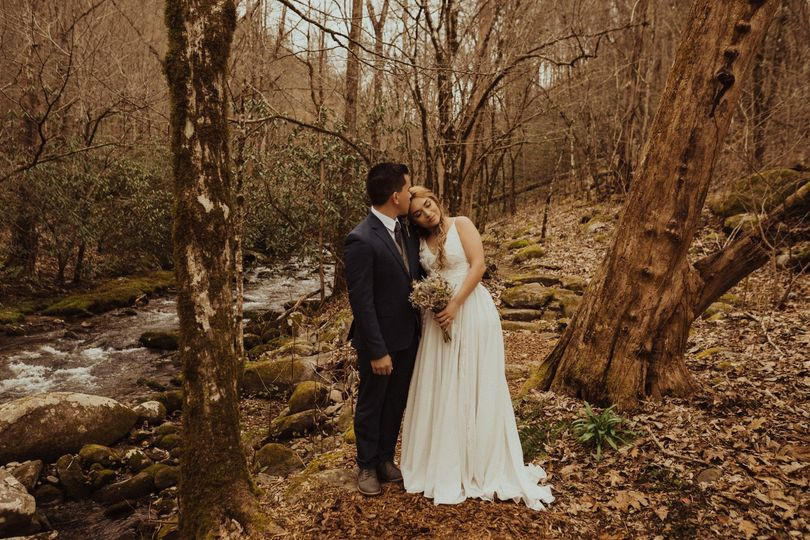 An intimate elopement