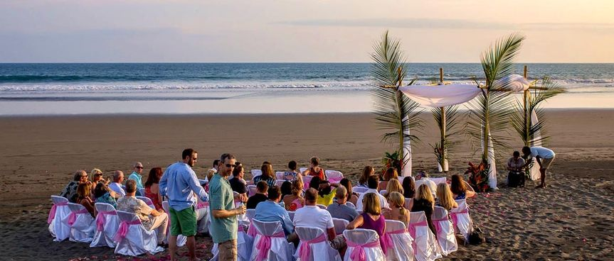 Beach wedding docelunas