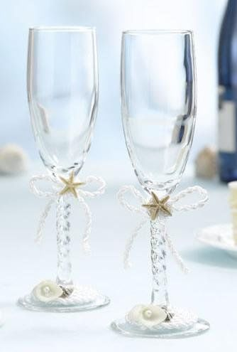 Starfish Toasting Glasses