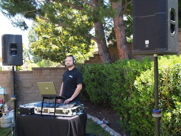 DJing Outdoors!