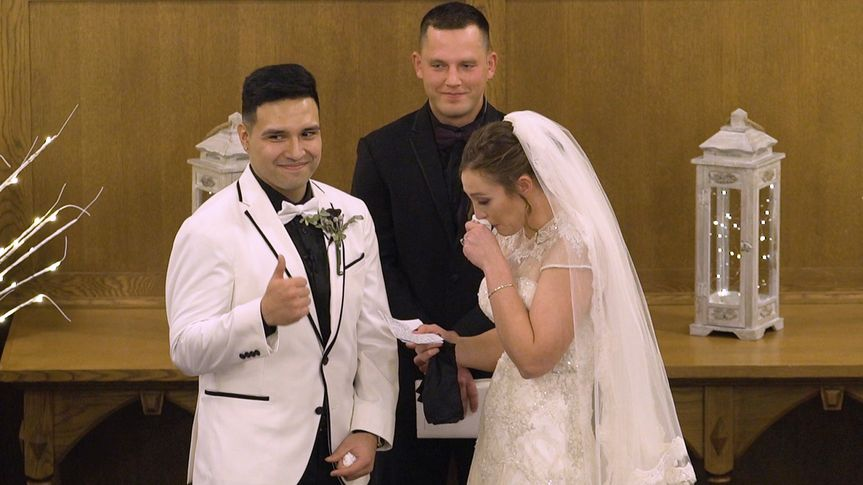 Exchanged their vows - Cloud 9 Wedding Videography