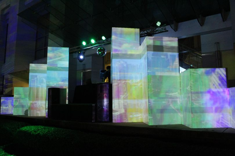 Full Projection mapping setup
