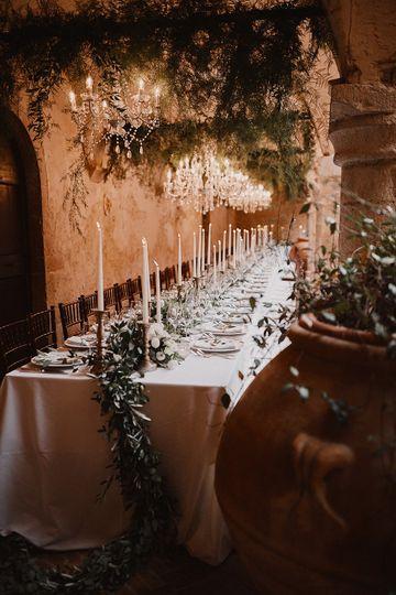 Banquet table   Umbria