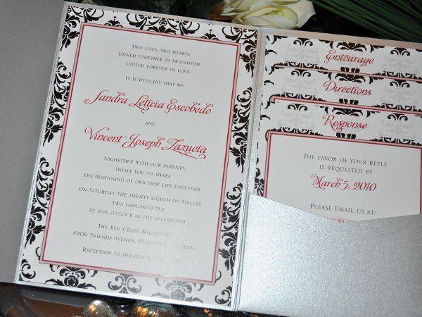 Tmx 1291964511278 EtsyPocketfold01 Rancho Cucamonga wedding invitation