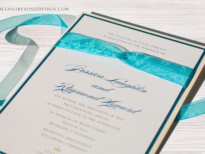 Tmx 1420189223800 Jessicainvite01 Rancho Cucamonga wedding invitation