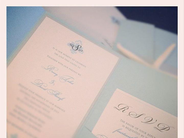 Tmx 1420189257842 Romystarfishpocketfold02 Rancho Cucamonga wedding invitation