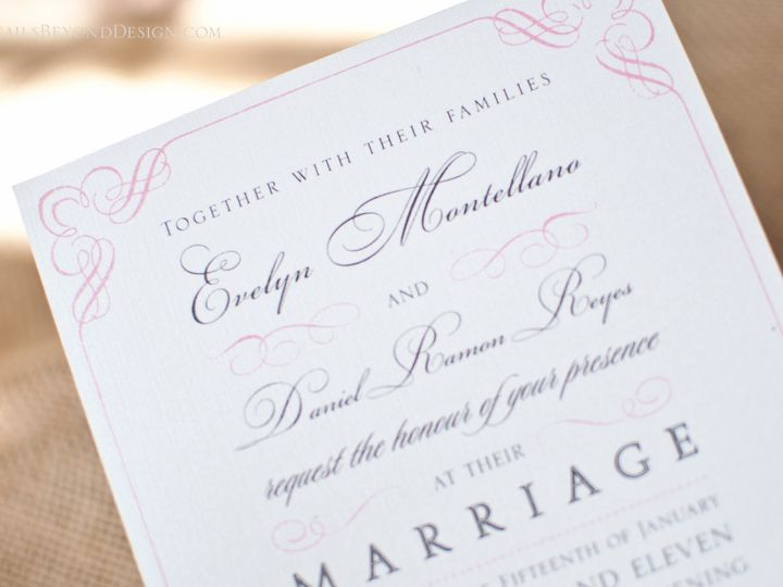 Tmx 1420189951007 Dbd 11 Rancho Cucamonga wedding invitation