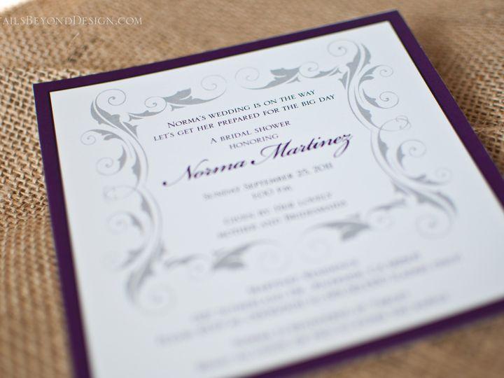 Tmx 1420190060176 Dbd 22 Rancho Cucamonga wedding invitation