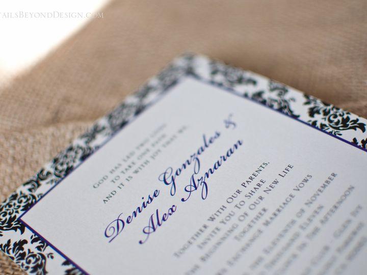 Tmx 1420190094208 Dbd 27 Rancho Cucamonga wedding invitation
