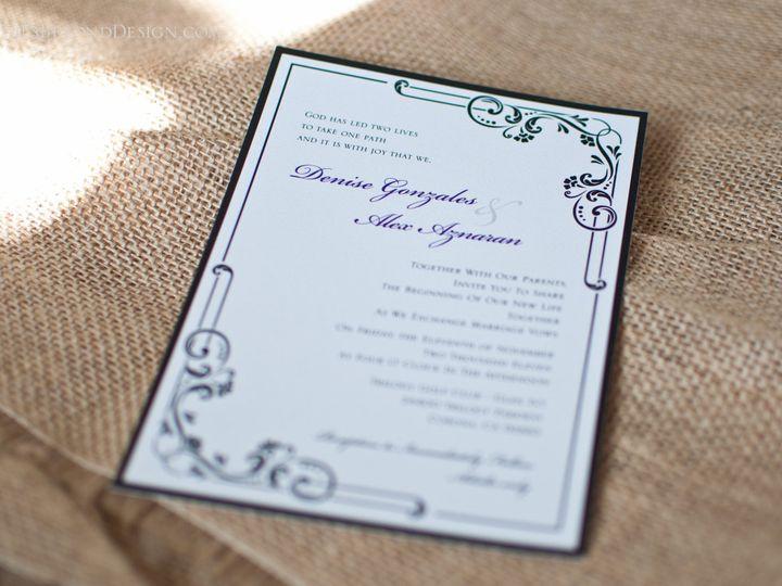 Tmx 1420190123561 Dbd 28 Rancho Cucamonga wedding invitation