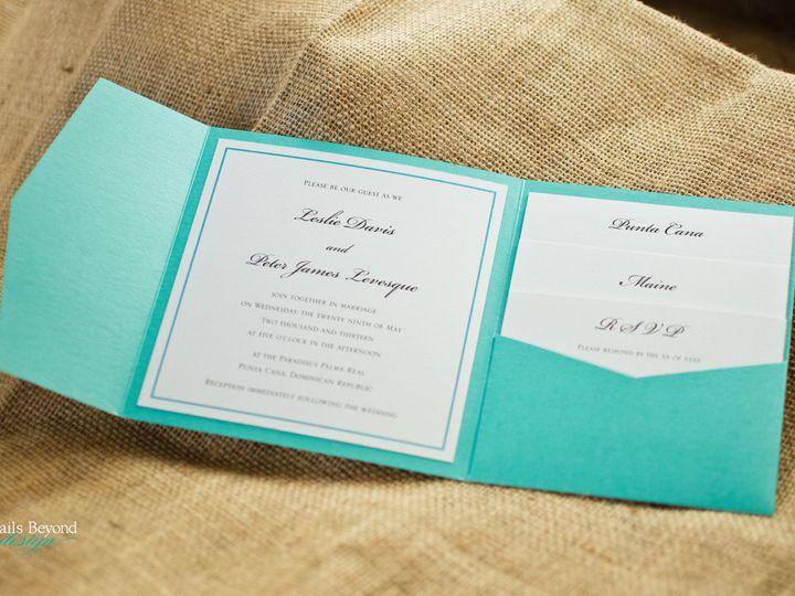 Tmx 1422260542616 Tiffanypocketfold 1 Rancho Cucamonga wedding invitation