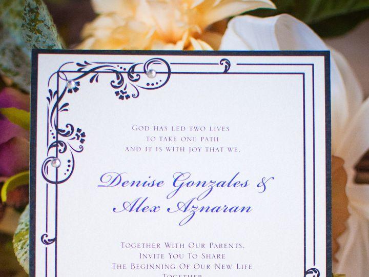 Tmx 1422260638430 Weddinginvite 1 Rancho Cucamonga wedding invitation