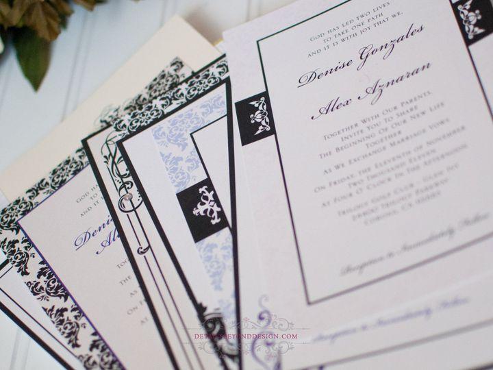 Tmx 1422260707282 Weddinginvite 4 Rancho Cucamonga wedding invitation