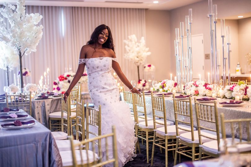 Styled shoot reception