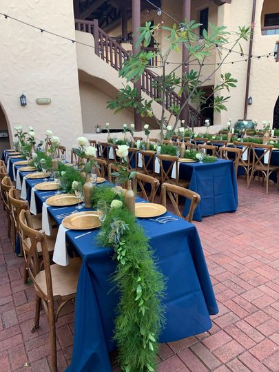 Linen, chair and dining rental