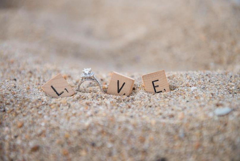 Wedding ringKristi Midgette Photography