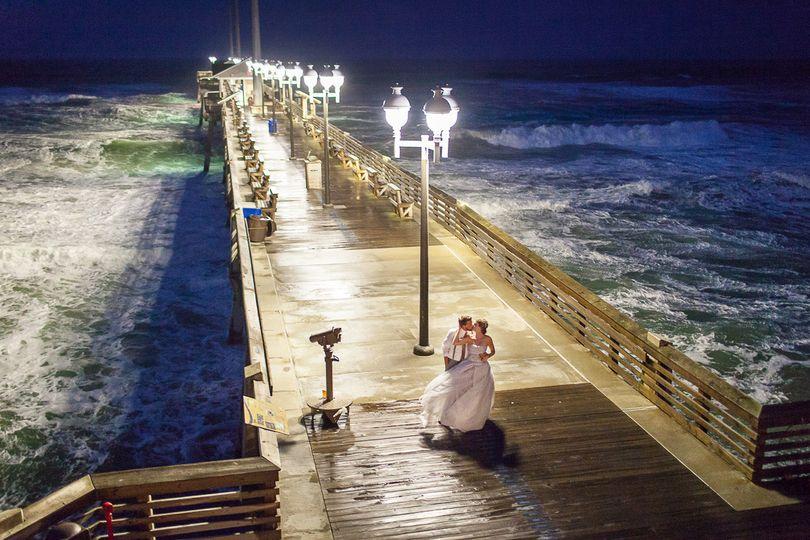 Jennette 39 s pier venue nags head nc weddingwire for Jennette s fishing pier