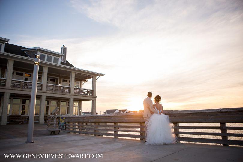 Sunset Love on the Pier