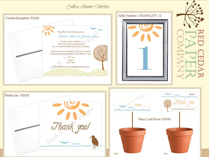 Tmx 1369862752120 Endless Summerproduct Overview2 Okemos wedding invitation