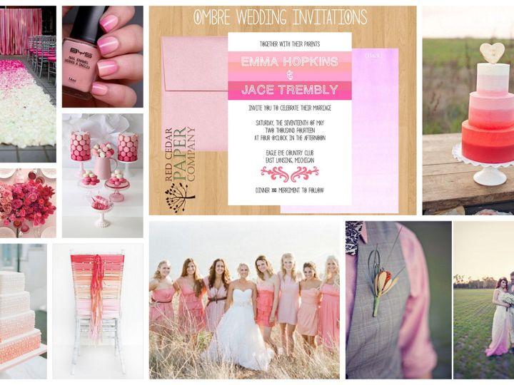 Tmx 1380049737443 Inspiration Board Okemos wedding invitation