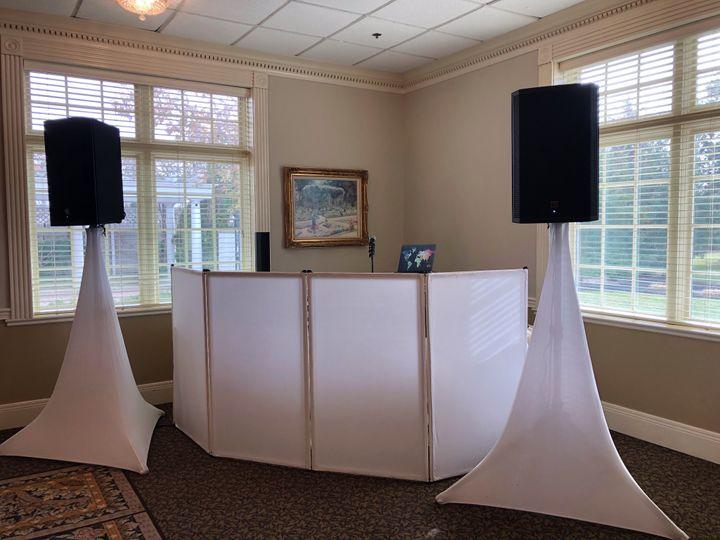 Elegant booth